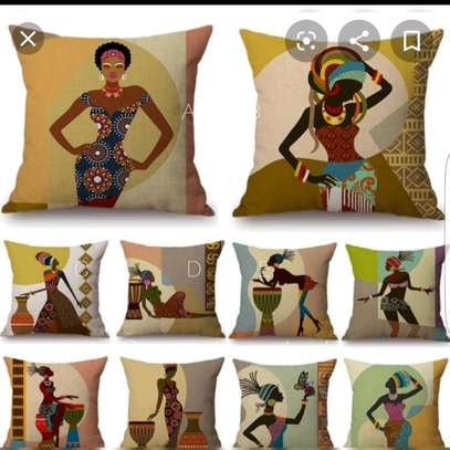African themed throw pillow cases image 2