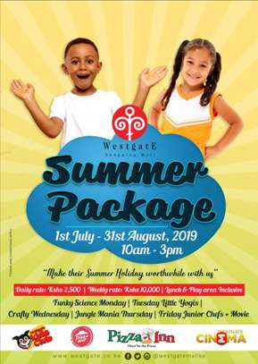 Westgate Shopping Mall Summer Package