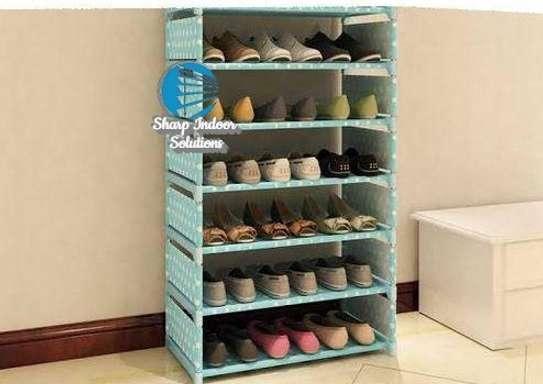 Single storage shoe rack image 1