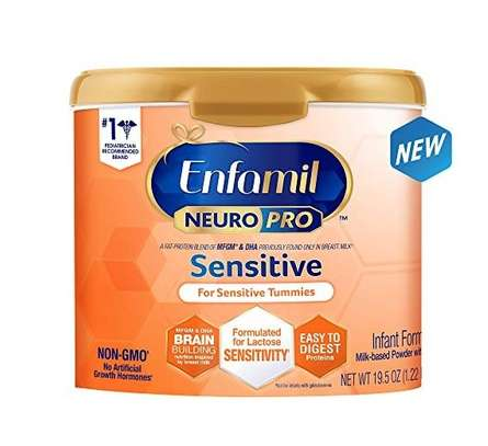 Enfamil Neuropro Sensitive Baby Formula Powder Can, 19.5 Ounce image 1