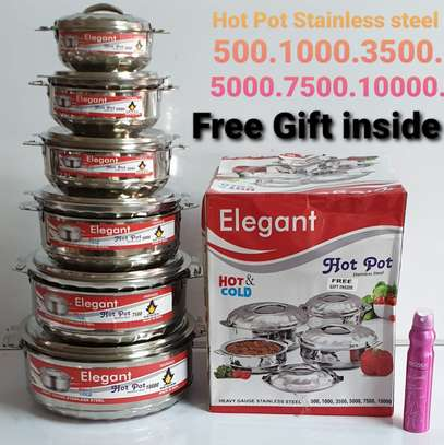 6pcs Elegant Hot Pots image 1
