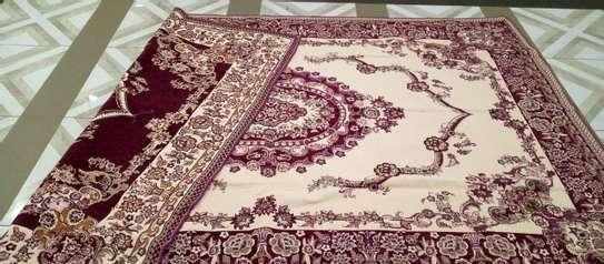 Persian Light Carpet / Bed Cover. image 3