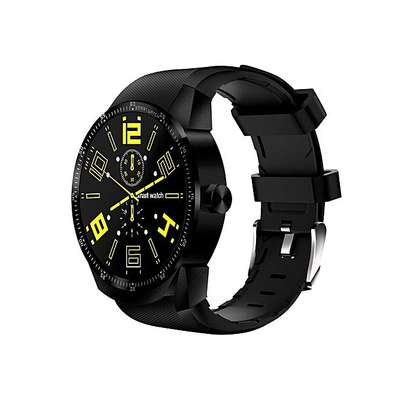 Top Brand WiFi Dual Core Heart Rate Smart Watch - Black