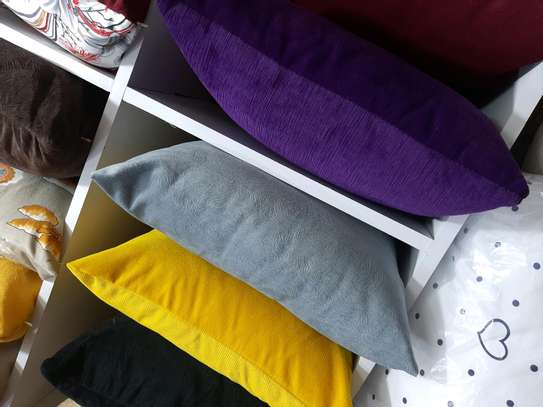 Bright coloured THROWPILLOWS  and cases image 1