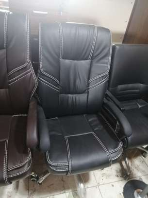 High back executive office seat image 4