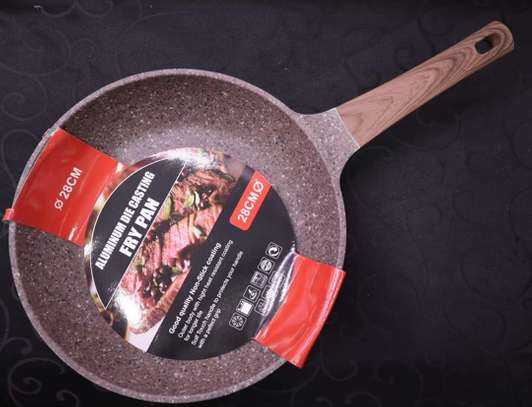Non Stick granite pans image 1