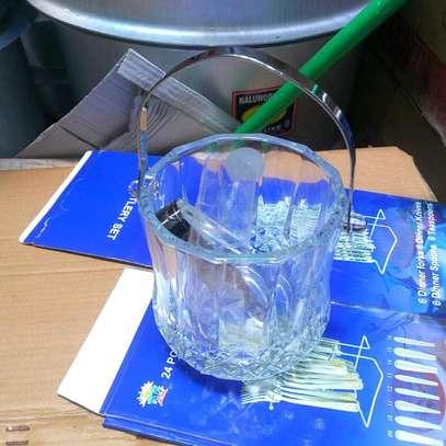 Ice cube bucket/ ice cube holder/bar ice cube holder image 2