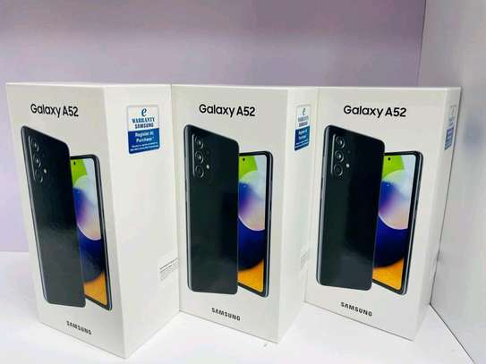 Brand new sealed Samsung A52 image 1