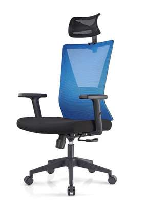 Posture Friendly Executive High back mesh chairs image 4