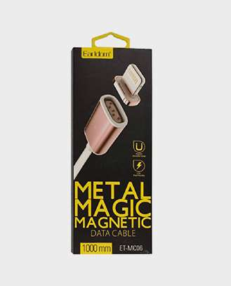 Earldom ET MC04 2 In 1 Metal Magnetic Lightning Cable For iPhone/iPads image 4