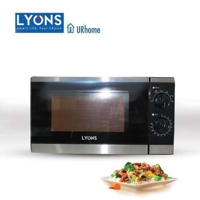Lyons YW Microwave Oven Glass, 1200W, 20L - Black image 3