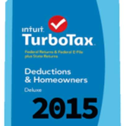 Intuit TurboTax Home & Business 2015 for MacOSX