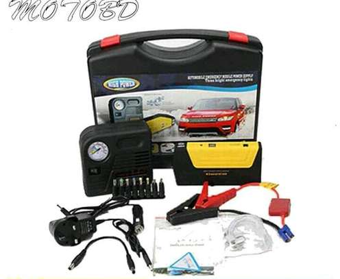 Car jump starter/electric inflator pressure pump