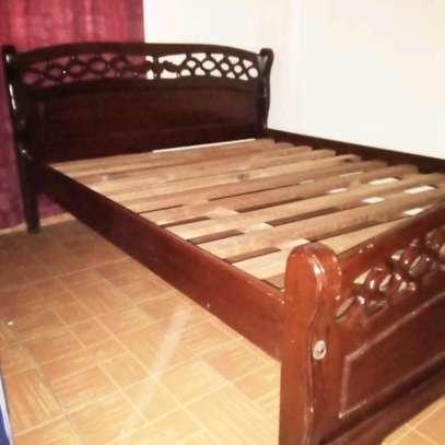 5*6 mahogany bed image 3