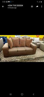Ready Made Simple Quality 5 Seater Sofa Set image 1