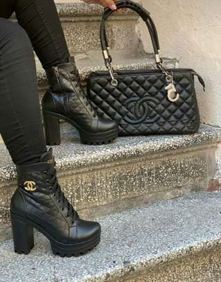 Chanel Bags and Boots image 1