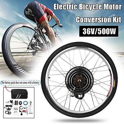 Generic 500W 36V Rear Wheel Electric Bicycle Motor Conversion Hub Ebike Cycling