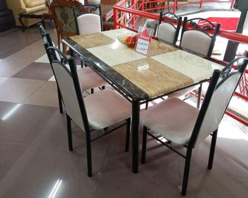 Executive 6 seater dining table image 1
