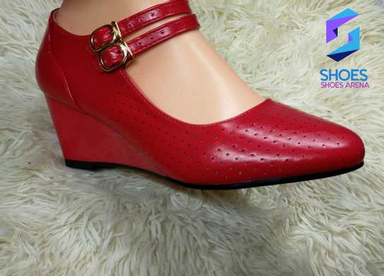Strap wedge shoes image 3