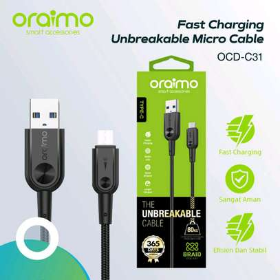 Type c fast charging cable image 1