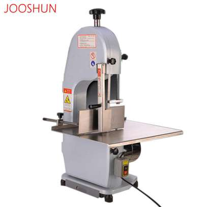 Commercial 650W Electric Meat Band Saw Bone Sawing Machine/Slicer for cutting frozen meat, Sawing pig's trotters, beefsteak with saw blade image 3