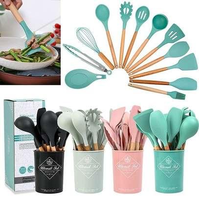 silicone kitchen  set image 1