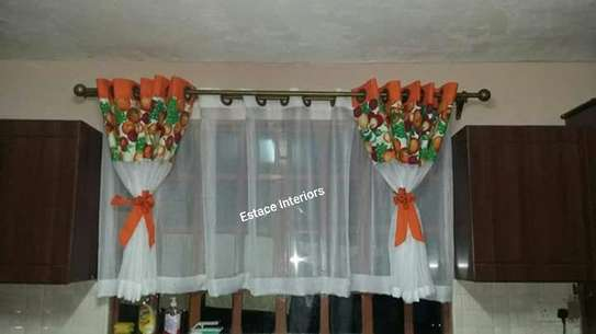 Elegant kitchen curtains image 8