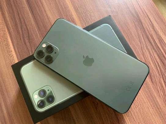 An Apple Iphone 11 Pro Max [ 512 Gigabytes Green ] image 1
