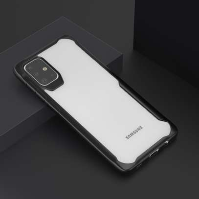 Ipaky Drop-Resistant Hybrid Clear Case for  Samsung A71 A51 A31 image 4
