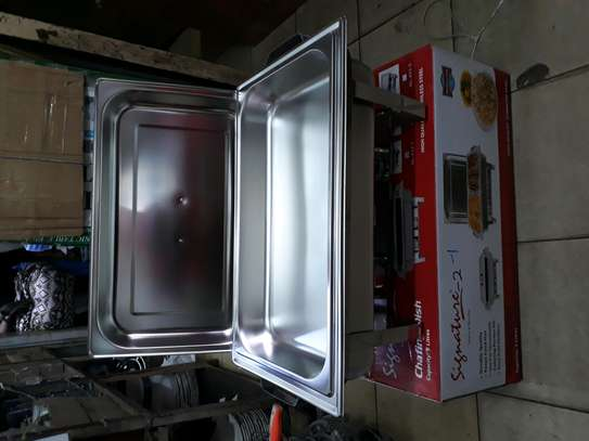Signature single chaffing dish/Food warmer/Cheffing dish image 1