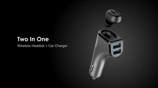 Oraimo Wireless Headset Plus Car Fast Charger image 1