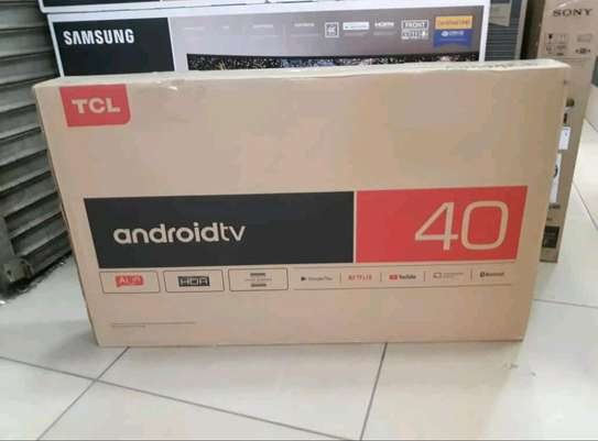 40 inch TCL smart Android Television image 1