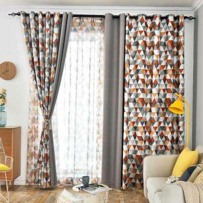 Latest design window curtains and sheers image 1