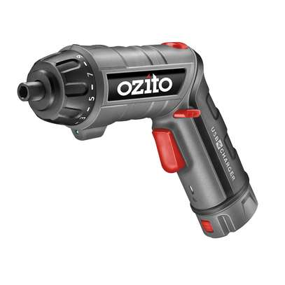 OZITO CONVERTIBLE SCREW DRIVER TORCH WITH CHARGER BASE 3.6 VOLTS- image 2