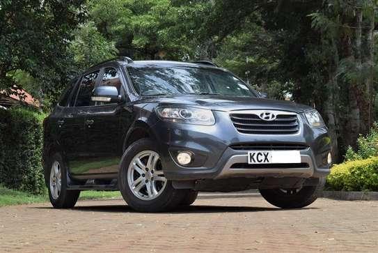 Hyundai SantaFe Year 2012 KCX Gray Color Ksh 1.95M image 1