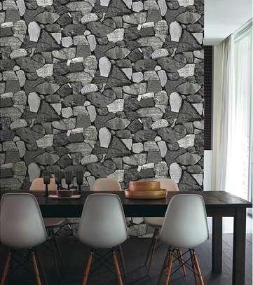 Home decor plain wall paper image 8