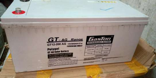 Gaston Polygel GT-AG Rechargeable Solar Battery 12v200ah20hr image 2
