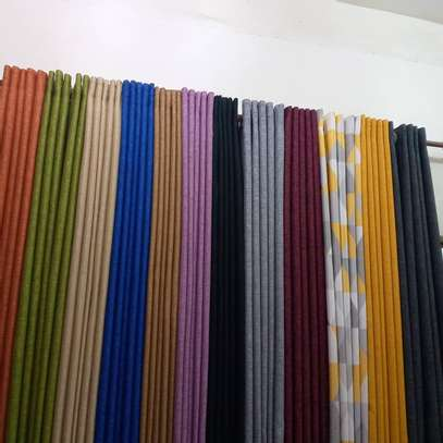 PLAIN SHEERS AND CURTAINS PER METER image 1