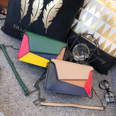 Multi-colored Sling Bags. image 6