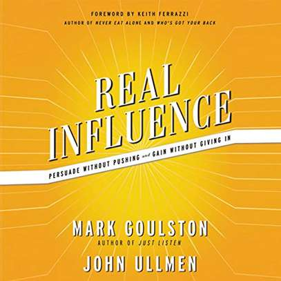 Real Influence - Persuade Without Pushing and Gain Without Giving In (Mp3 Audiobook) image 1