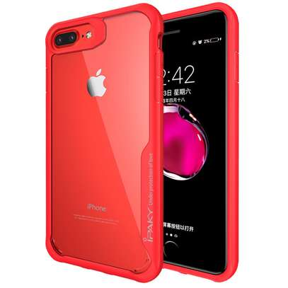 IPAKY Hybrid Shockproof Transparent Case for iPhone  7 7 Plus image 5