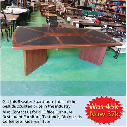 Mahogany Boardroom table image 1