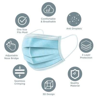 3 ply surgical masks offer image 1