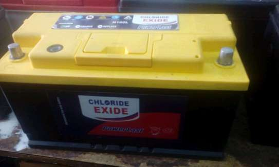 Chloride exide Din 66 car battery image 1