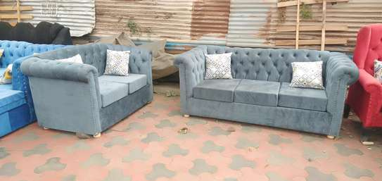 Ready 5-Seater Chesterfield Sofa image 4