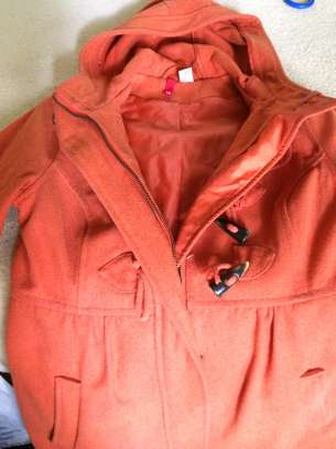 Warm ORANGE winter Jacket / Coat image 1