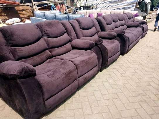 Ready Made Stylish Modern Quality 7 Seater Non Recliner Sofa image 1