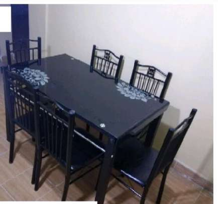 Dining table 1 table 6 chairs image 1
