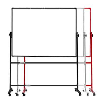 Mobile free standing whiteboard. image 1