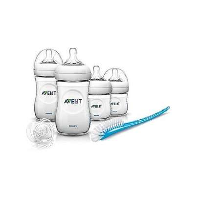 Philips Avent Natural Newborn Starter Set - Clear image 1